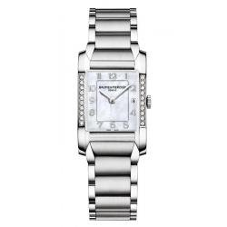 Reloj Mujer Baume & Mercier Hampton 10051 Diamantes Madreperla Quartz