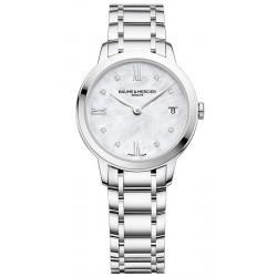 Comprar Reloj Mujer Baume & Mercier Classima 10326 Diamantes Madreperla Quartz