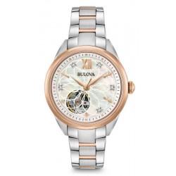 Comprar Reloj Mujer Bulova Classic 98P170 Diamantes Madreperla Quartz