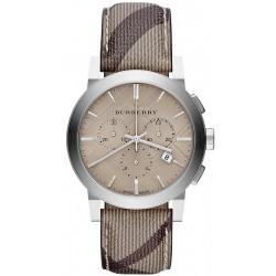 Comprar Reloj Burberry Hombre The City Nova Check BU9361 Cronógrafo