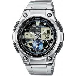 Comprar Reloj Hombre Casio Collection AQ-190WD-1AVEF Multifunción Ana-Digi