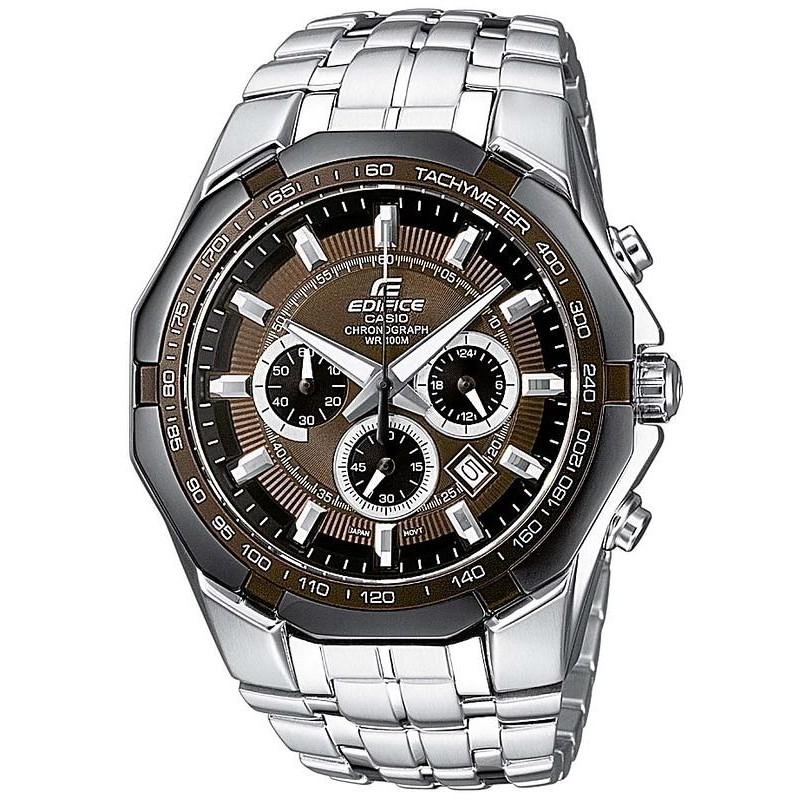4d3dc726d804 Reloj Hombre Casio Edifice EF-540D-5AVEF Cronógrafo - Crivelli Shopping