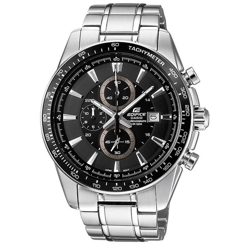 697f69c10f54 Reloj Hombre Casio Edifice EF-547D-1A1VEF Cronógrafo - Crivelli Shopping