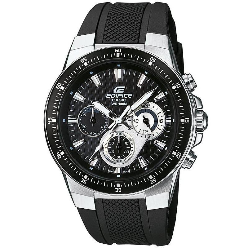0df91bf4a6c Reloj Hombre Casio Edifice EF-552-1AVEF Cronógrafo - Crivelli Shopping