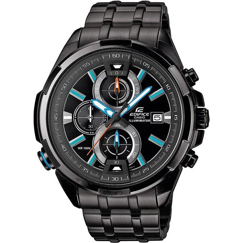 1cdc3feb4ca Reloj Hombre Casio Edifice EFR-536BK-1A2VEF Cronógrafo - Crivelli ...