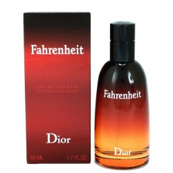 Perfume Hombre Christian Dior Fahrenheit Eau de Toilette EDT 50 ml
