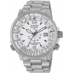 Comprar Reloj Hombre Citizen Pilot Radiocontrolado Titanio Eco-Drive AS2031-57A
