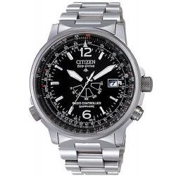 2d282dd5ae6a Reloj Hombre Citizen Pilot Radiocontrolado Titanio Eco-Drive AS2031-57E