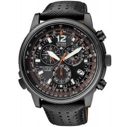 Reloj Hombre Citizen Crono Pilot Radiocontrolado AS4025-08E