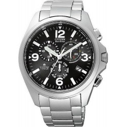 Comprar Reloj Hombre Citizen Crono Field Radiocontrolado Titanio AS4030-59E
