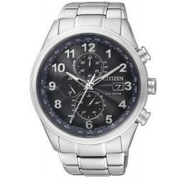 Comprar Reloj Hombre Citizen Eco-Drive Radiocontrolado H800 Crono AT8011-55L