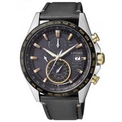 Reloj Hombre Citizen Radiocontrolado H800 Titanio Eco-Drive AT8158-14H