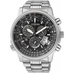Reloj Hombre Citizen Radiocontrolado The Pilot Evolution 5 Titanio BY0081-54E
