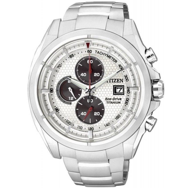 203ed0975b3b Reloj Hombre Citizen Super Titanium Crono Eco-Drive CA0550-52A ...