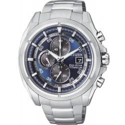 Reloj Hombre Citizen Super Titanium Crono Eco-Drive CA0550-52M