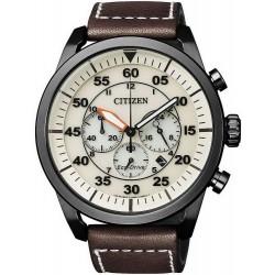 Comprar Reloj Hombre Citizen Aviator Crono Eco-Drive CA4215-04W