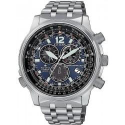 Comprar Reloj Hombre Citizen Radiocontrolado Crono Pilot Super Titanium CB5850-80L