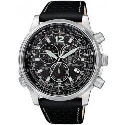 Comprar Reloj Hombre Citizen Radiocontrolado Crono Pilot CB5860-19E