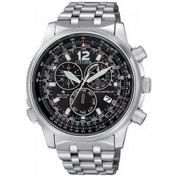 Comprar Reloj Hombre Citizen Radiocontrolado Crono Pilot CB5860-86E
