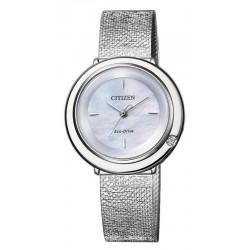 Comprar Reloj Citizen Mujer Ambiluna Eco-Drive EM0640-82D Diamante Madreperla