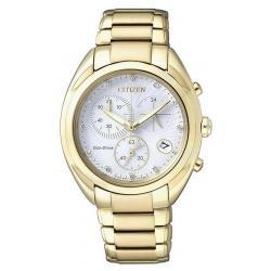 Reloj Citizen Mujer Crono Lady Eco-Drive FB1396-57A Diamantes