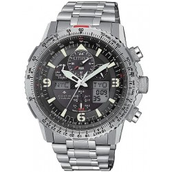 Reloj Hombre Citizen Radiocontrolado Skyhawk Super Titanium JY8100-80E