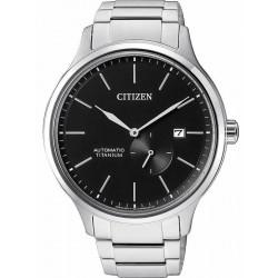 Reloj Hombre Citizen Super Titanium Mecánico NJ0090-81E