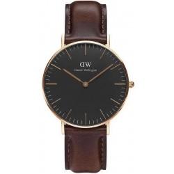Comprar Reloj Unisex Daniel Wellington Classic Black Bristol 36MM DW00100137
