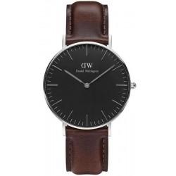 Comprar Reloj Unisex Daniel Wellington Classic Black Bristol 36MM DW00100143