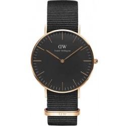 Comprar Reloj Unisex Daniel Wellington Classic Black Cornwall 36MM DW00100150