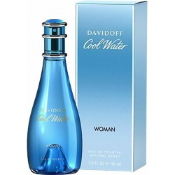 Perfume Mujer Davidoff Cool Water Eau de Toilette EDT 100 ml