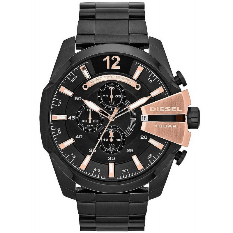 16c16ea519d2 Reloj Hombre Diesel Mega Chief DZ4309 Cronógrafo - Crivelli Shopping