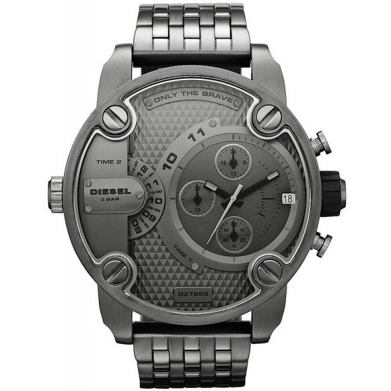 200ab86653be Reloj Hombre Diesel Little Daddy DZ7263 Cronógrafo Dual Time ...