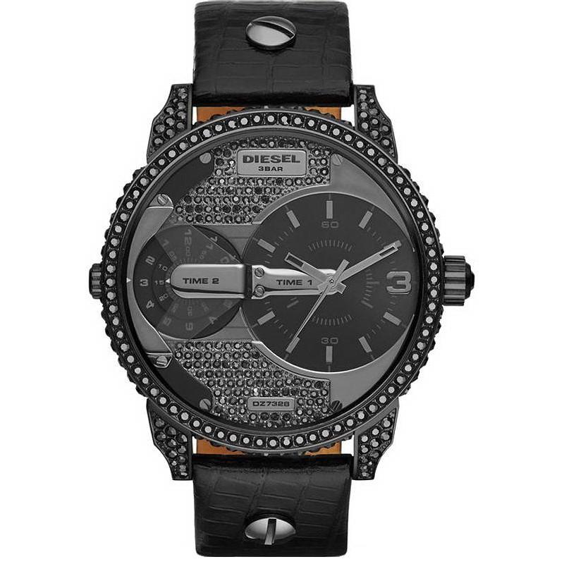 23843773ffa0 Reloj Diesel Unisex Mini Daddy DZ7328 Dual Time - Crivelli Shopping