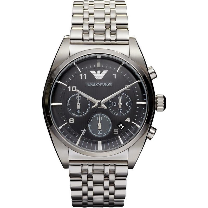 cdea481674a2 Reloj Hombre Emporio Armani Franco AR0373 Cronógrafo - Crivelli Shopping