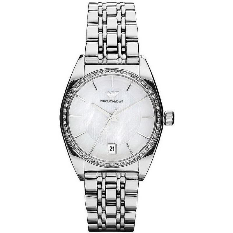 3fc56e11464b Reloj Mujer Emporio Armani Franco AR0379 Madreperla - Crivelli Shopping