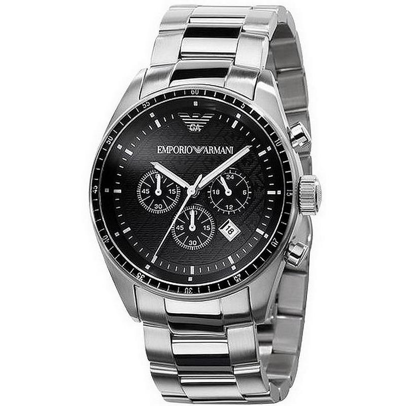 9df641e2175b Reloj Hombre Emporio Armani AR0585 Cronógrafo - Crivelli Shopping
