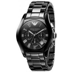 Comprar Reloj Hombre Emporio Armani Ceramica AR1400 Cronógrafo