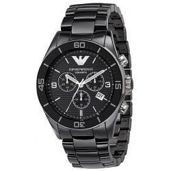 Comprar Reloj Hombre Emporio Armani Ceramica AR1421 Cronógrafo