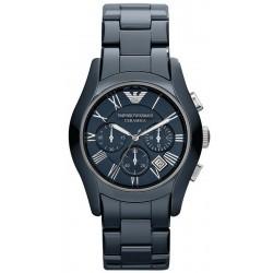 Comprar Reloj Hombre Emporio Armani Ceramica AR1469 Cronógrafo