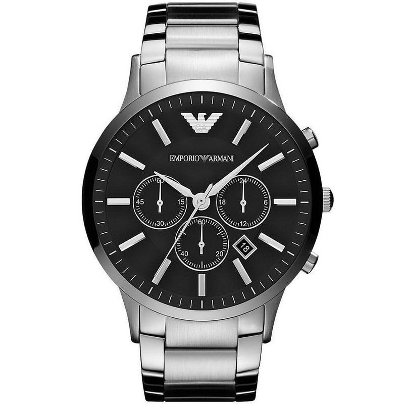 9db49f030fed Reloj Hombre Emporio Armani Renato AR2460 Cronógrafo - Crivelli Shopping