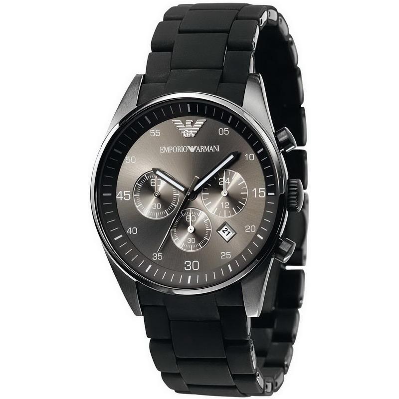 0c9817f3daac Reloj Hombre Emporio Armani Tazio AR5889 Cronógrafo - Crivelli Shopping