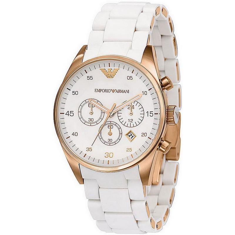 e4ce183b62dd Reloj Mujer Emporio Armani Tazio AR5920 Cronógrafo - Crivelli Shopping