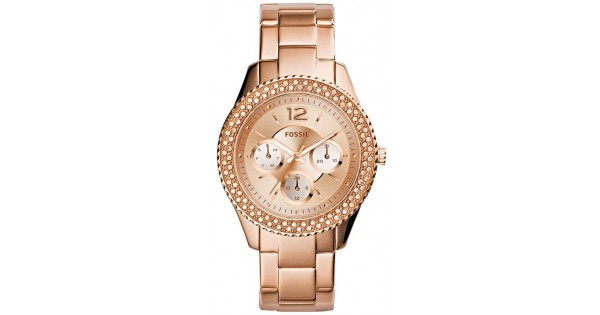 4cc52d732b1f Reloj Fossil Mujer Stella ES3590 Multifunción Quartz - Crivelli Shopping