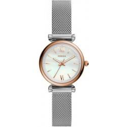Comprar Reloj Fossil Mujer Carlie Mini ES4614 Madreperla Quartz