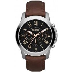 Comprar Reloj Fossil Hombre Grant FS4813 Cronógrafo Quartz