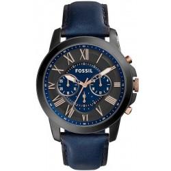 Reloj Fossil Hombre Grant FS5061 Cronógrafo Quartz