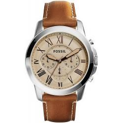 Reloj Fossil Hombre Grant FS5118 Cronógrafo Quartz