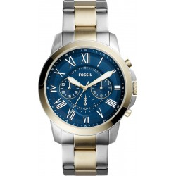 Reloj Fossil Hombre Grant FS5273 Cronógrafo Quartz