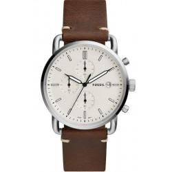 Reloj Fossil Hombre Commuter FS5402 Cronógrafo Quartz